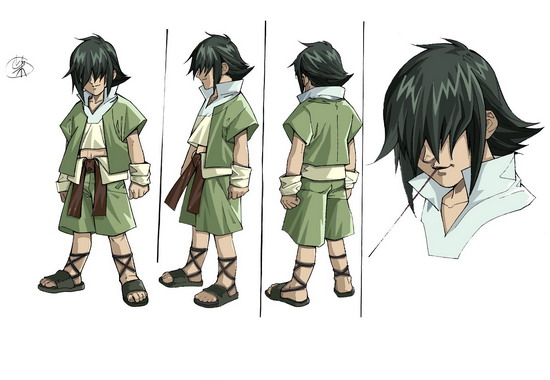 漫画决角色经典PK日本风云漫画角造型色子神纪枪图片